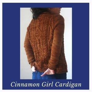 Cinnamon Girl Cardigan KAL