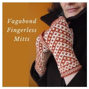 Vagabond Fingerless Mitts KAL