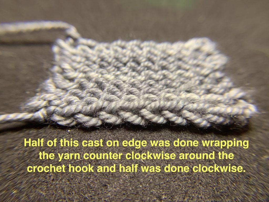 Crochet cast on